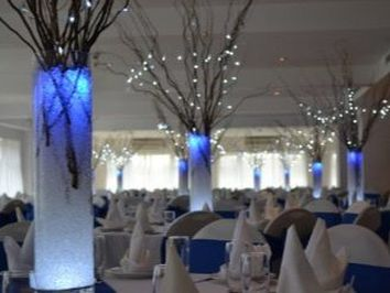 Winter Wonderland Table Centrepieces